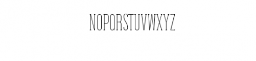 Dalena-Thin.woff Font UPPERCASE