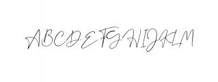 Dalmatins // Elegant Signature Font Font UPPERCASE