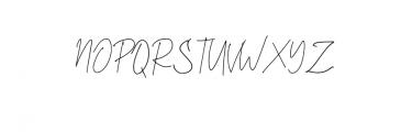 Daltana Font UPPERCASE