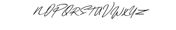 Daniels Signature Font UPPERCASE