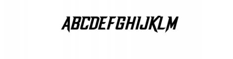 Dash Horizon Font UPPERCASE