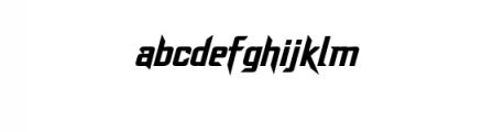 Dash Horizon Font LOWERCASE