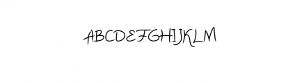 Daydreaming Font UPPERCASE