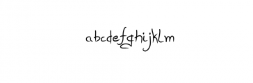Daydreaming Font LOWERCASE