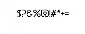daun.ttf Font OTHER CHARS