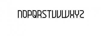 daun.ttf Font UPPERCASE