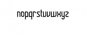 daun.ttf Font LOWERCASE