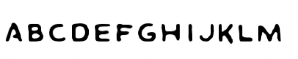 DaiVernon Misdirect Font LOWERCASE