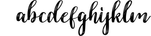 Dahlia Font Font LOWERCASE