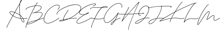 Daisy Signature font 2 Font UPPERCASE