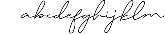 Daisy Signature font 2 Font LOWERCASE