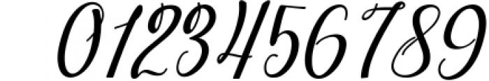 dahlia script Font OTHER CHARS