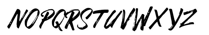 DABRUSH Font UPPERCASE