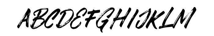 DABRUSH Font LOWERCASE