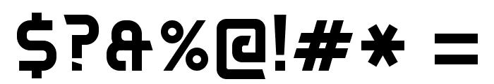 DAGGERSQUARE Font OTHER CHARS