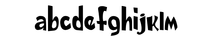 DAILY BOLD demo Font LOWERCASE