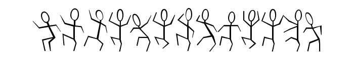 DANCEMAN Font LOWERCASE