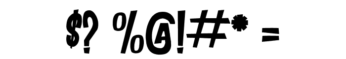DANCING JUNGLE Font OTHER CHARS