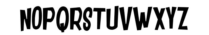 DANCING JUNGLE Font UPPERCASE