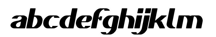 DANIEL Bold Italic Font LOWERCASE