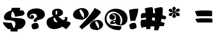 DANISVDANVSGV Font OTHER CHARS