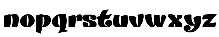 DANISVDANVSGV Font LOWERCASE