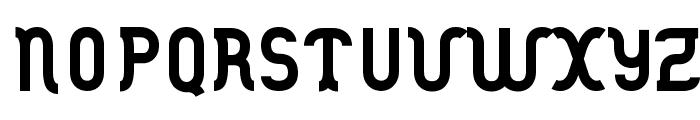 DANOISE-Bold Font UPPERCASE