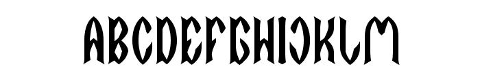 DARK EMPIRE Font UPPERCASE