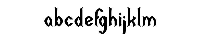 DARK EMPIRE Font LOWERCASE