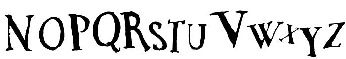 DaDa Antiquerist Font UPPERCASE