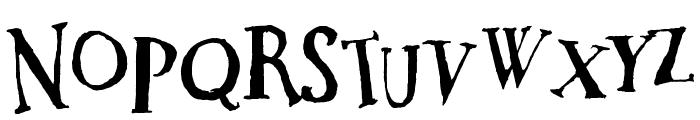 DaDa Antiquerist Font LOWERCASE