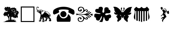 DaOth Regular Font OTHER CHARS