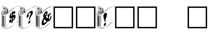 DaRib Plain Font OTHER CHARS