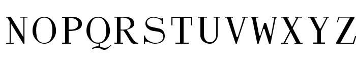 Dactylographe [Unregistered] Font UPPERCASE