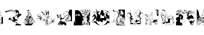 DadaPeopleOne Font LOWERCASE