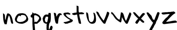 Dadhand Font LOWERCASE