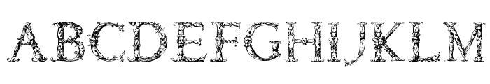 Daemonesque Font UPPERCASE