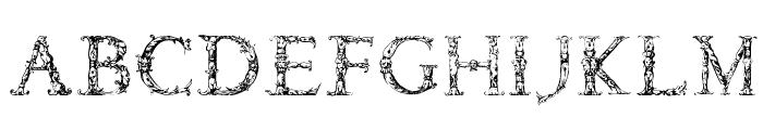 Daemonesque Font LOWERCASE