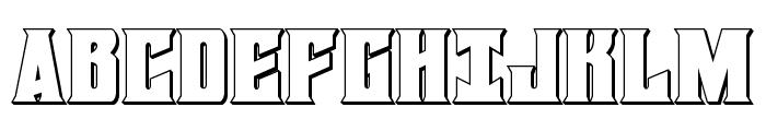 Daemonicus 3D Font UPPERCASE