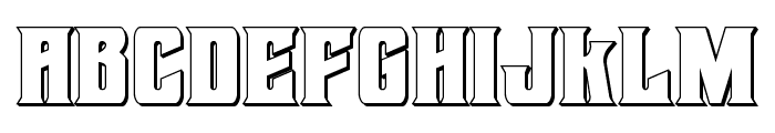 Daemonicus 3D Font LOWERCASE