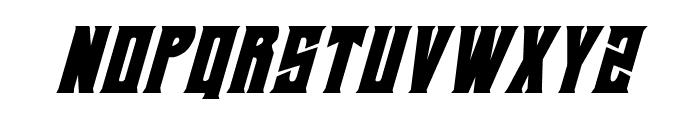 Daemonicus Condensed Italic Font UPPERCASE