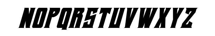 Daemonicus Condensed Italic Font LOWERCASE
