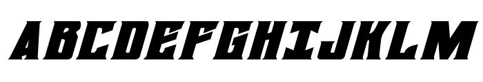 Daemonicus Expanded Italic Font UPPERCASE