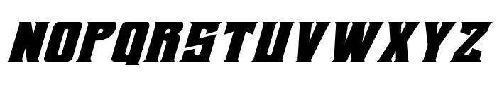 Daemonicus Expanded Italic Font LOWERCASE