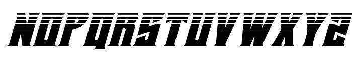 Daemonicus Halftone Italic Font UPPERCASE