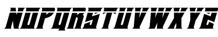 Daemonicus Laser Italic Font UPPERCASE