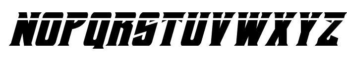Daemonicus Laser Italic Font LOWERCASE