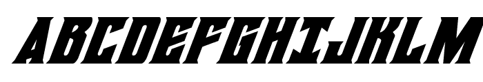 Daemonicus Super-Italic Font UPPERCASE
