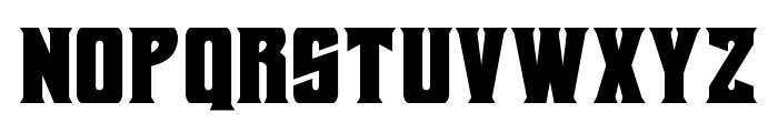 Daemonicus Font LOWERCASE