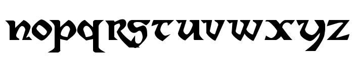 Dahaut Font LOWERCASE